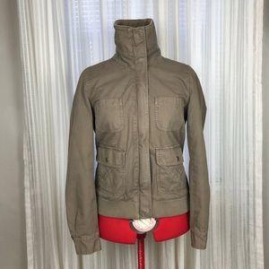 J. Crew Jackets & Coats - J. Crew Army Green Military Khaki Utility Jacket
